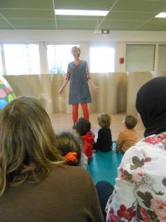 Activité assistante maternelle spectacle chantepie